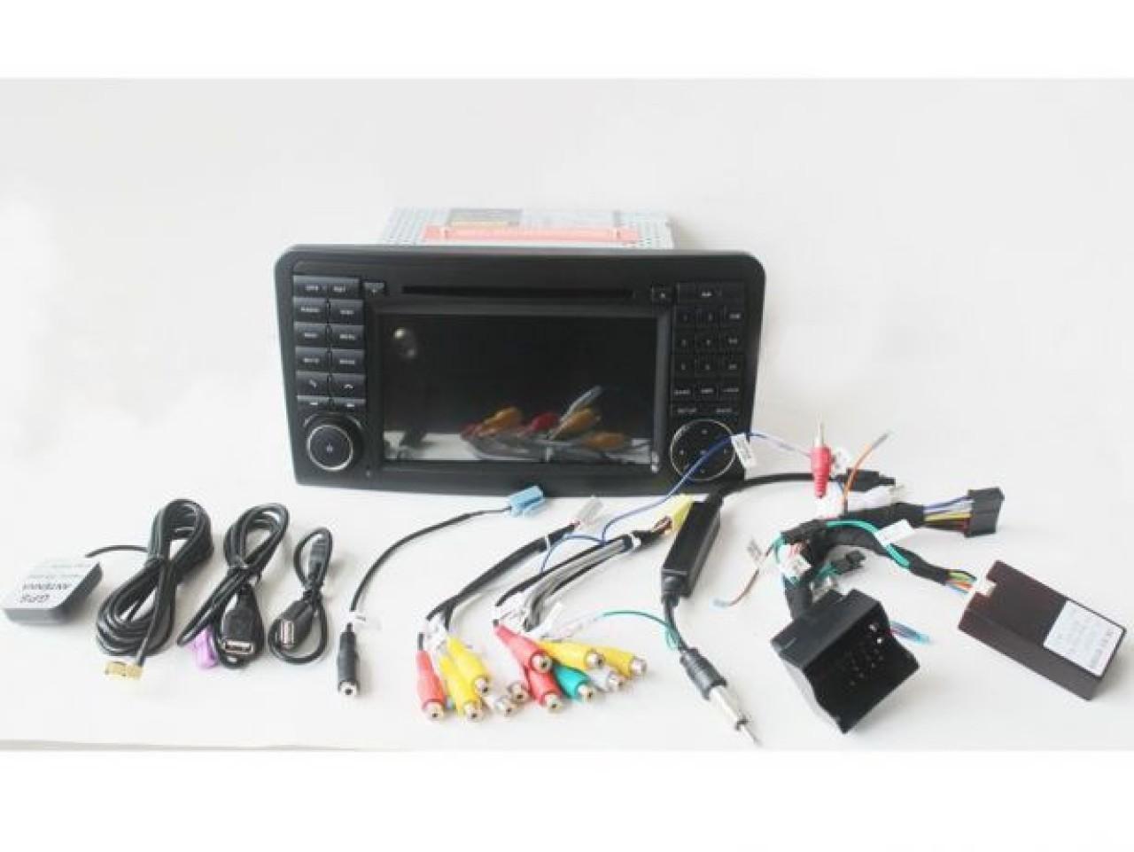 DVD GPS AUTO CARKIT USB Navigatie Dedicata Android Mercedes Benz Ml W164 Class NAVD-A219