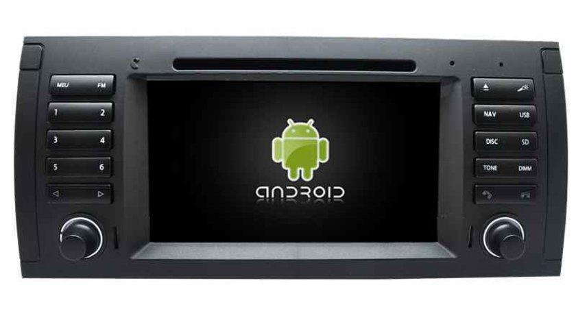 Dvd Gps Auto Navigatie Android Dedicata BMW E39 X5 E53 INTERNET 3G WIFI WAZE CARKIT 16 GB NAVD-E082