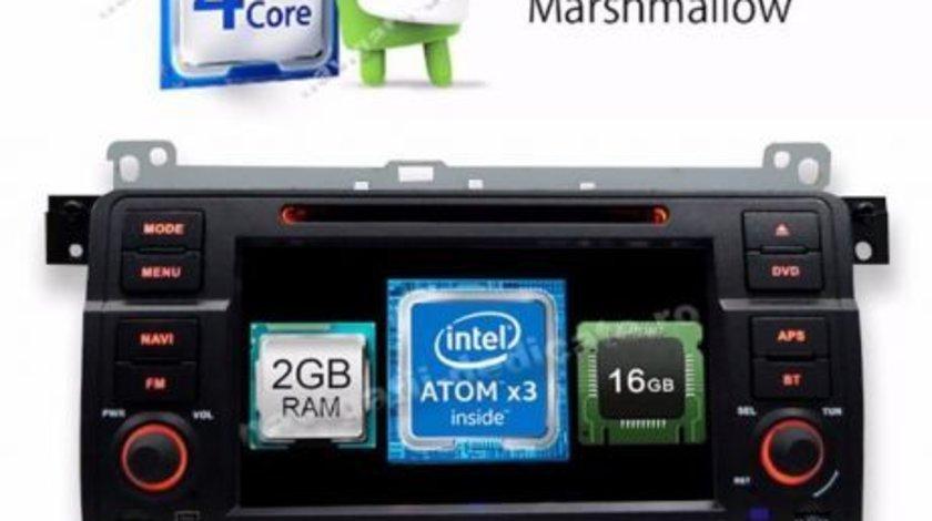 DVD GPS AUTO Navigatie DEDICATA Android BMW E46 ECRAN CAPACITIV INTERNET CARKIT USB NAVD-i052