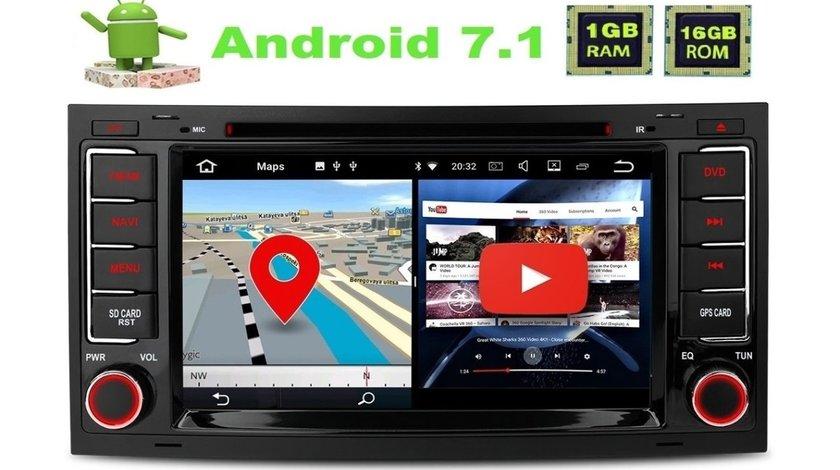 Dvd Gps Auto Navigatie Dedicata Android VW Touareg Multivan T5