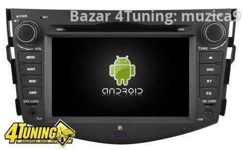 Dvd Gps Auto Navigatie Dedicata Cu Android Rav 4 Quad Core Internet NAVD-A5126