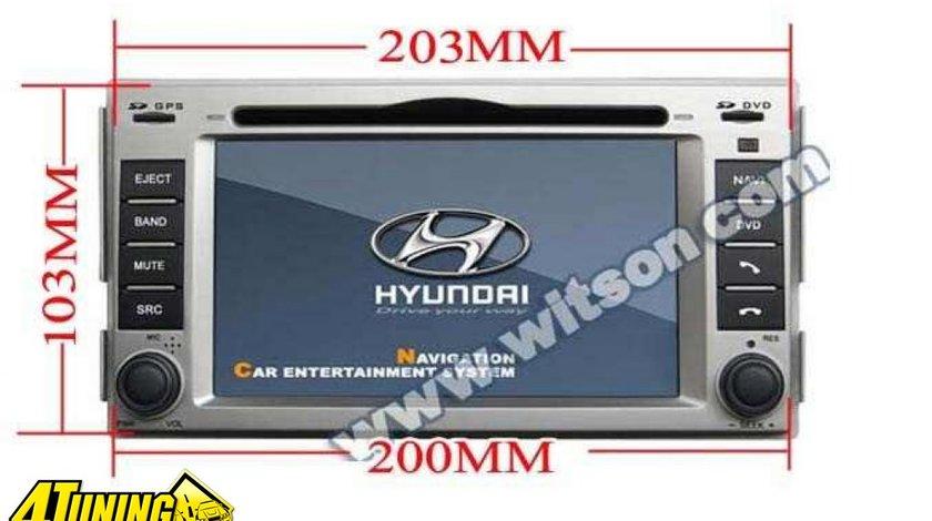 Dvd Gps Auto Navigatie Dedicata Hyundai Santa Fe Carkit Ipod Tv Navd D8268y
