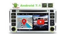DVD GPS Navigatie Dedicata ANDROID 7.1 Hyundai San...