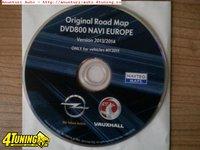 Dvd harta navigatie OPEL DVD800 NAVI MY2011 Europa Romania 2015 2016