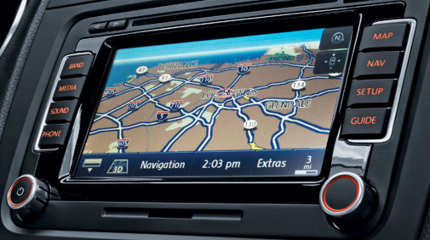 Dvd harti navigatie Volkswagen rns510 HARTI PASSAT TIGUAN TOUAREG 2016 2017 2018