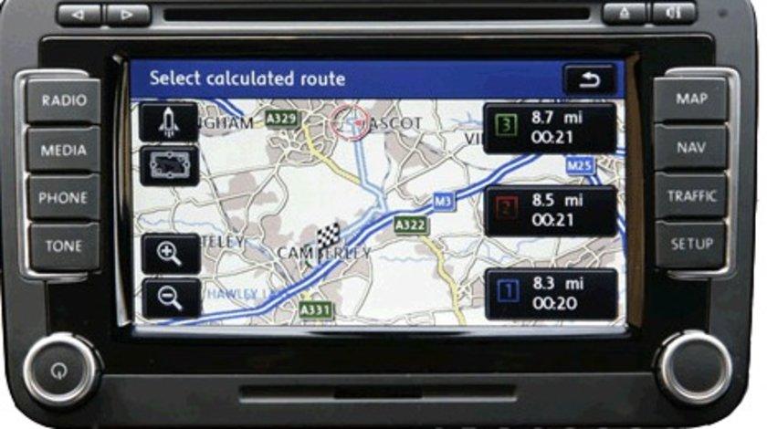 Dvd harti navigatie VW GOLF 5 GOLF 6 RNS 510 Romania Europa 2020