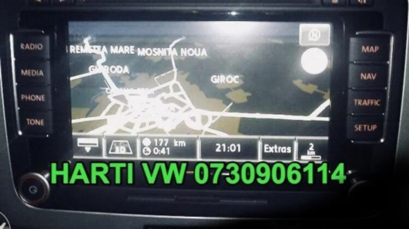 DVD Harti Navigatie VW RNS315 310 510 GOLF PASSAT TIGUAN Touareg 2020