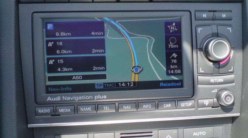 DVD Navigatie AUDI A3 Harta navigatie RNS-E MMI ECRAN RABATABIL 2018