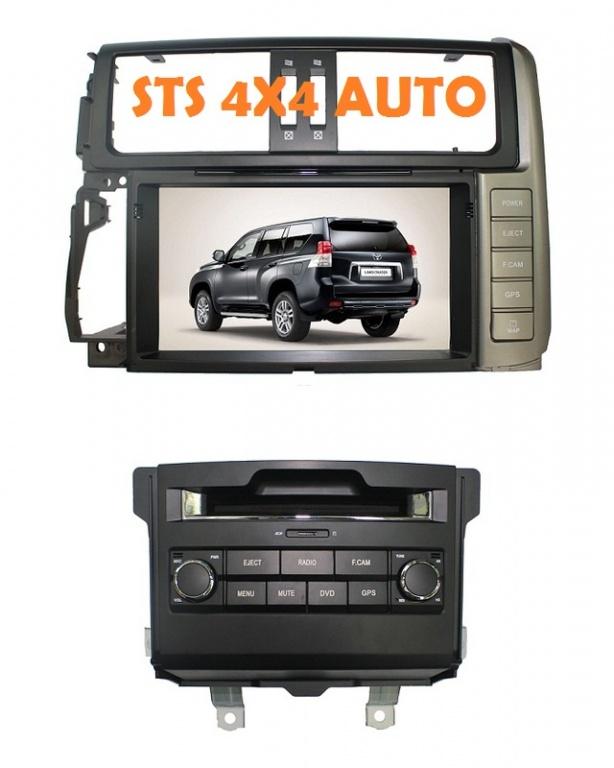 DVD NAVIGATIE AUTO LAND CRUISER PRADO FJ150 2010-2013[SPLIT-TYPE]