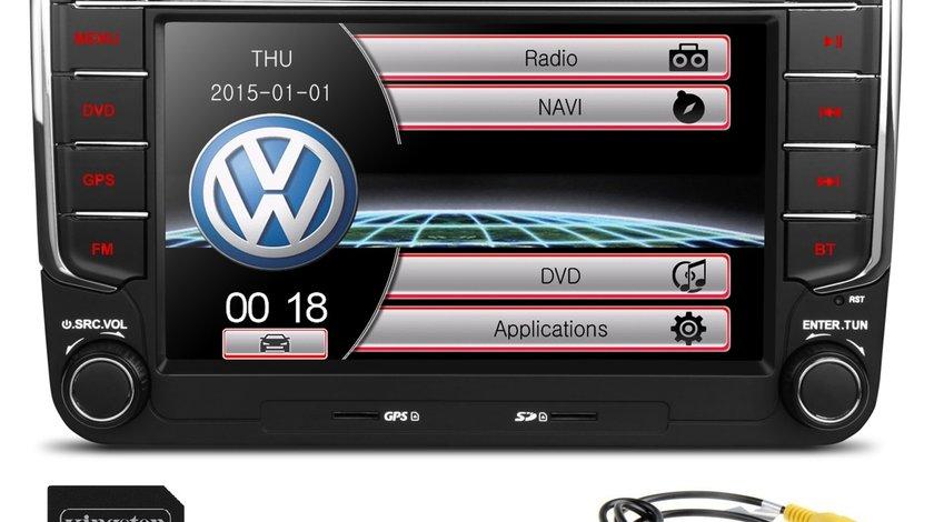 Dvd Navigatie VW Passat B6 B7 CC Golf 5 6 Jetta Skoda Octavia 2 Superb