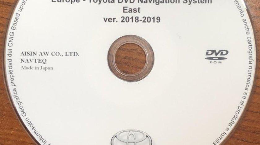 DVD Original Harti Navigatie TOYOTA TNS600 TNS700 EUROPA +ROMANIA 2019