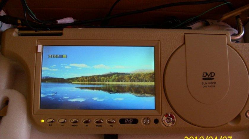 DVD PARASOLAR CU DIVX JOCURI TV USB SD TUCHSCREEN