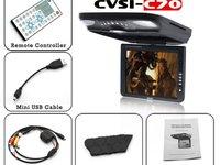 DVD PLAFONIERA CU MONITOR TFT 10 4 INCH DIVX USB SD MODULATOR FM