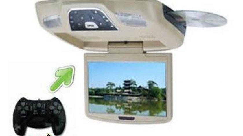 Dvd Plafoniera Monitor Lcd Tft 11 Inch CONSOLA JOCURI Divx Usb Sd Modulator Fm