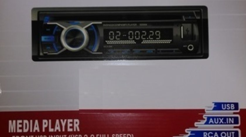 Dvd Player Auto 1DIN Universal Fata Detasabila DIVX 2 Iesiri Video Model MCX-896