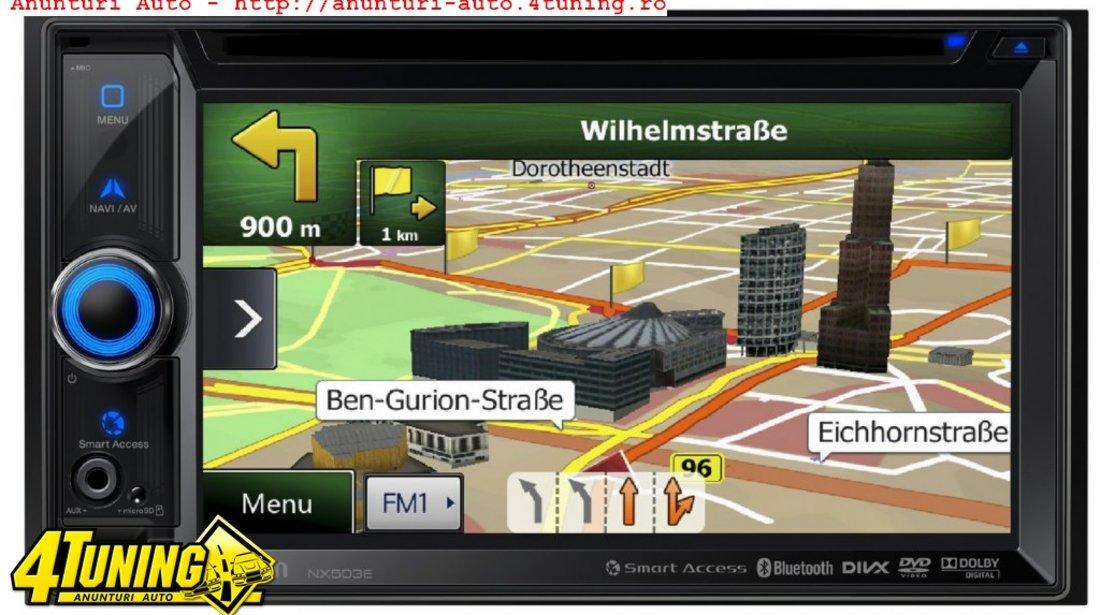 DVD Player Auto Clarion NX503E 2DIN UniversAL 4x50W iPod/iPhone Aux USB MP3 MP4 DivX