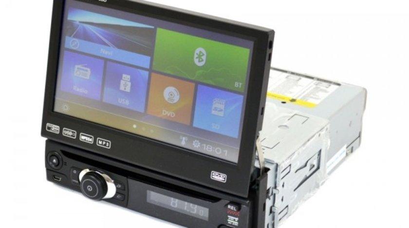 DVD PLAYER AUTO CU ECRAN RETRACTABIL LCD 7'' PNI U8008 FATA DETASABILA