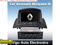 Dvd Player Auto Cu Navigatie Dedicata Renault Megane 2 Edotec Edt K098 Platforma S90 Gps Tv Carkit