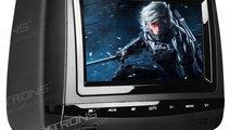 DVD PLAYER AUTO DE TETIERA XTRONS HD728B USB SD LC...