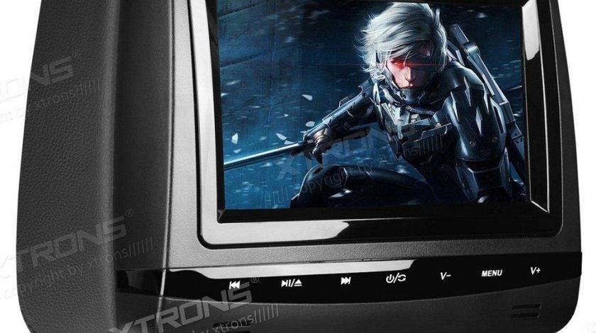 "DVD PLAYER AUTO DE TETIERA XTRONS HD728B USB SD LCD 7""' TOUCHSCREEN REZOLUTIE HD JOCURI JOYSTICK WIRELESS"