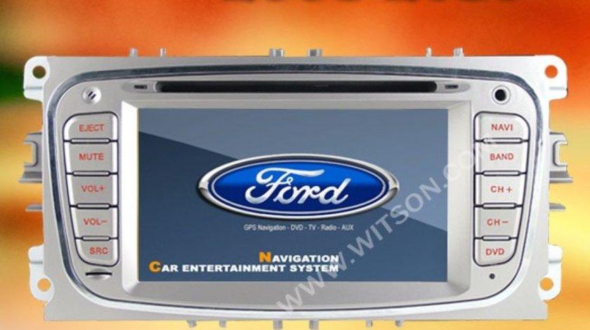 DVD PLAYER AUTO NAVIGATIE DEDICATA FORD MONDEO FOCUS SMAX GALAXY TOURNEO EDOTEC K003 ECRAN CAPACITIV