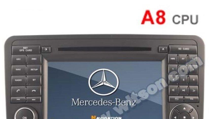 DVD PLAYER AUTO NAVIGATIE DEDICATA MERCEDES-BENZ ML W164 GL X164 WITSON W2-D6558 DVD GPS TV CARKIT