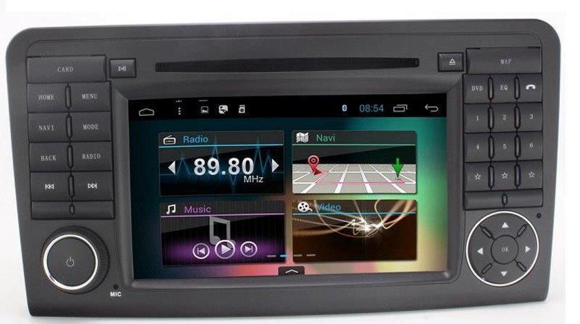 Dvd Player Auto Navigatie NAVIGATIE ANDROID DEDICATA MERCEDES-BENZ ML W164 GLX164 Edotec EDT-G213 3G