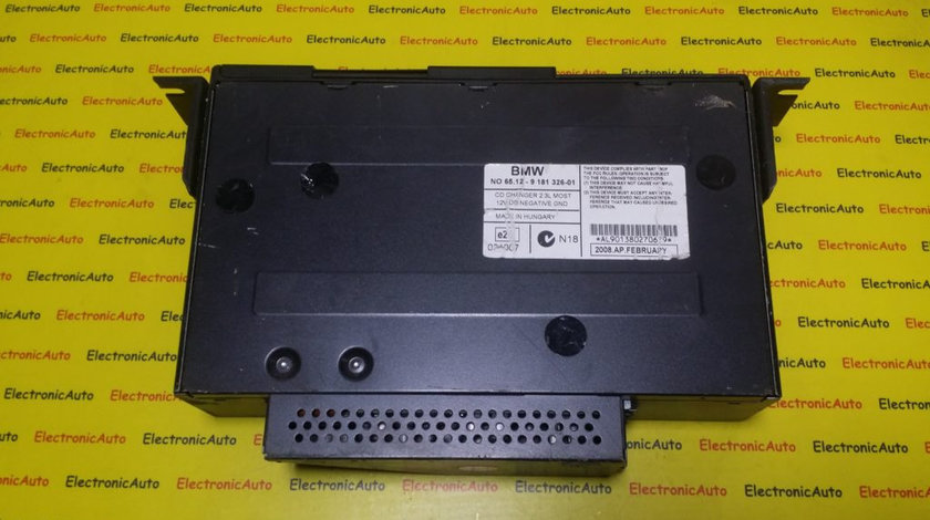 DVD Player, Depozitare CD BMW, 6512918132601 (6WK5)