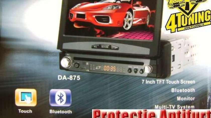 DVD RETRACTABIL CU GPS 7 FATA DETASABILA TV TUNER DIVX USB SD 1499 lei!!!