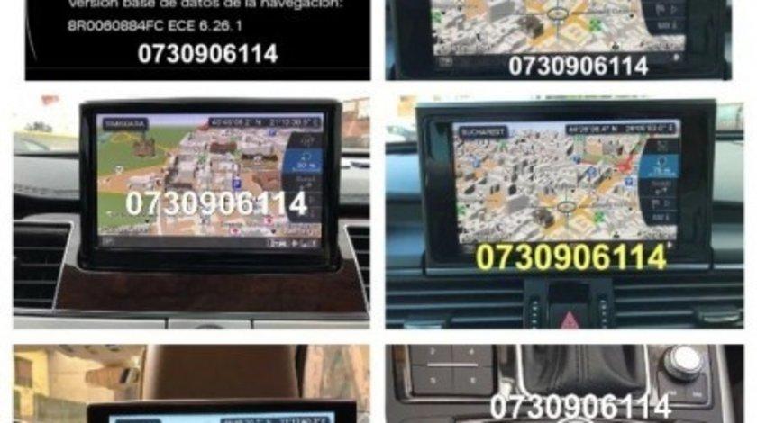 DVD / SD harta 2020 Navigatie Audi A4 A5 A6 A7 A8 Q5 Q7 MMI 2G MMI 3G