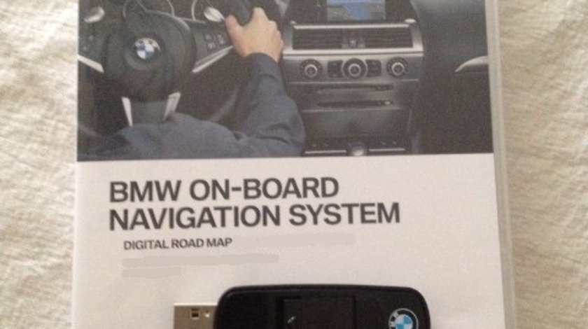 DVD USB Update Harti navigatie BMW Premium CIC HDD 2018-1 cod fsc