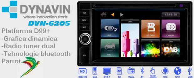 DVN-6205, noul sistem multimedia de la Dynavin cu cel mai bun raport calitate/pret