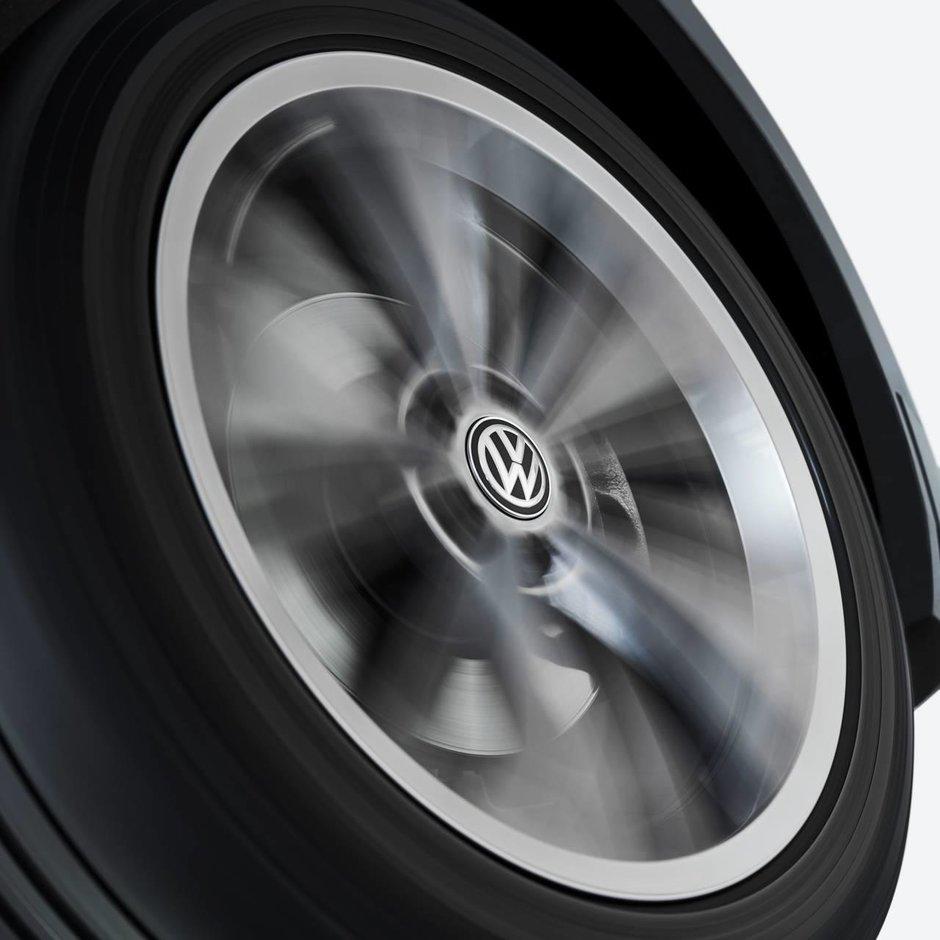 Dynamic Volkswagen Hub Cap