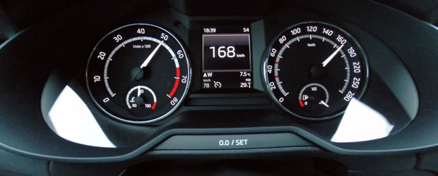 E cea mai rapida Skoda Octavia a momentului. Iata cat de repede sprinteaza noua Octavia RS 230