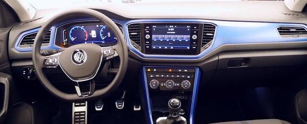 E cel mai ieftin SUV de la Volkswagen si asa arata pe viu. VIDEO cu interiorul si exteriorul