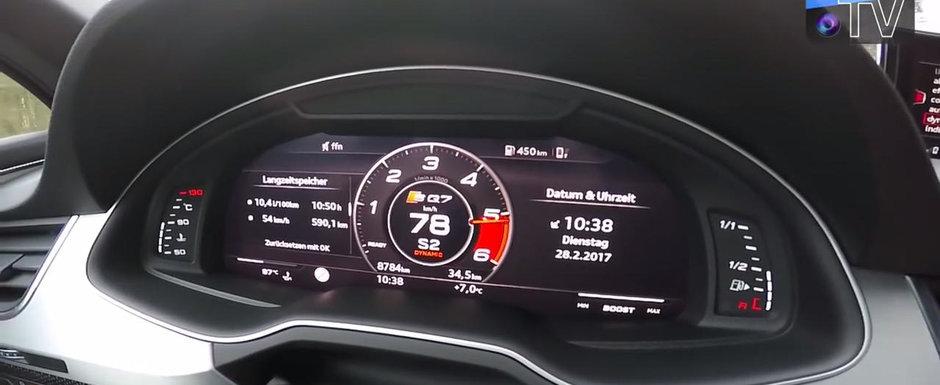 E cel mai puternic diesel al planetei. Test de acceleratie cu noul Audi TDI de 435 CP