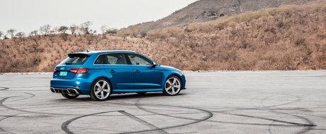 E cel mai puternic hot-hatch al momentului. GALERIE FOTO cu noul Audi RS3 de 400 CP