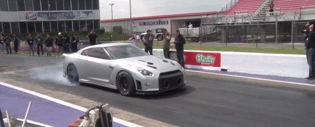 E cel mai rapid din SUA: Priveste in actiune un Nissan GT-R de 7.43 secunde!