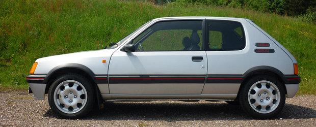 E cel mai scump Peugeot 205 GTI vandut vreodata. Clientul a platit 12.000 de lire sterline peste suma ceruta