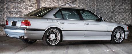 E mai rar decat un Bugatti, dar il poti avea la pret de VW. Suma cu care se vinde acest Alpina V12 din 2000