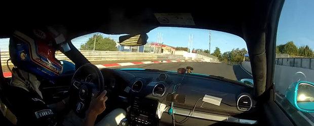 E oficial! Porsche-ul 718 Cayman S este a doua cea mai rapida masina cu motor in 4 cilindri de pe Nurburgring. Uite aici dovada