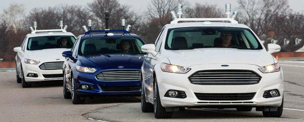 E oficial! Prima masina full-autonoma va veni in 2021, spun americanii de la Ford