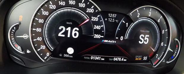 E pentru prima oara cand BMW alege sa vanda masina asta. VIDEO cu acceleratia la podea