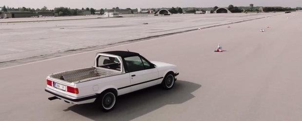 E sansa ta sa le vezi in actiune. VIDEO cu cele mai ciudate M3-uri din istoria marcii BMW