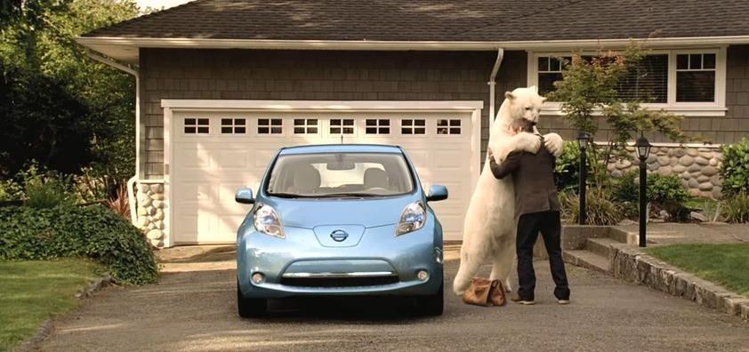 E timpul sa te sensibilizam: Nissan Leaf si ursul polar