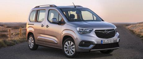 E un copy-paste cu sigla de Opel. Cam asta poti spune la prima vedere despre noul Combo Life