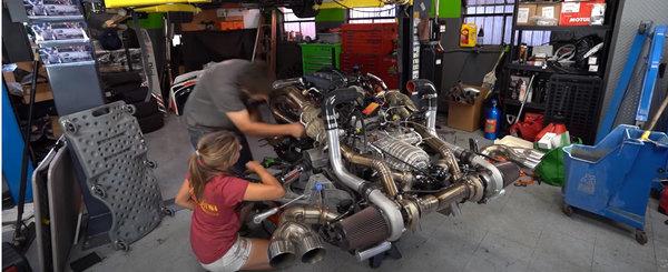 Ea a reusit deja sa crape motorul noului Corvette C8, dupa ce l-a facut twin-turbo. Diagnostic: biele indoite