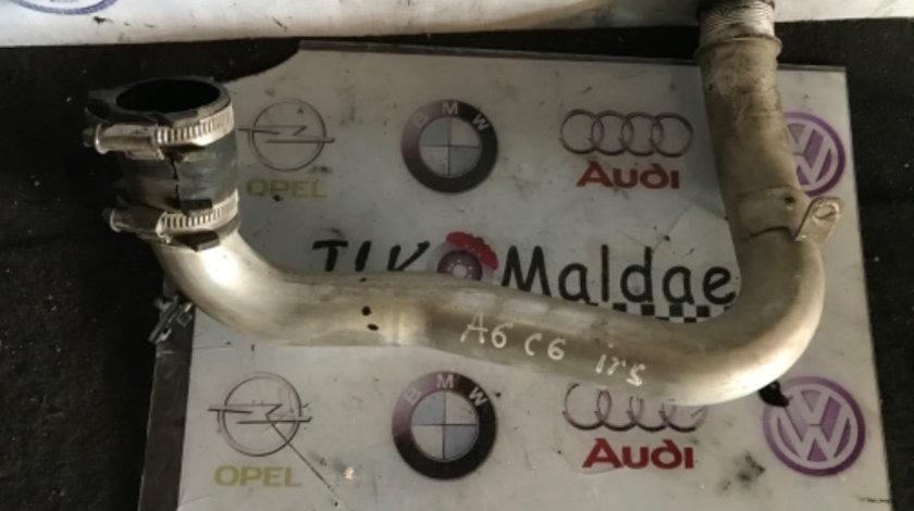 Țeava intercooler stanga Audi A6 C6 3.0 BMK