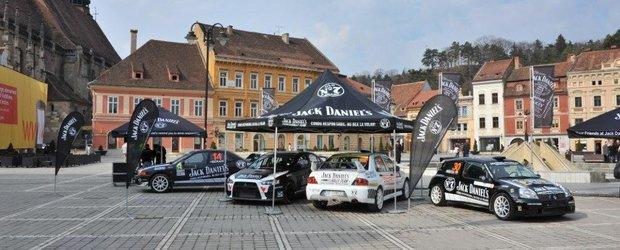 Echipa Jack Daniel's Rally Team se lanseaza in Campionatul National de Raliuri 2012