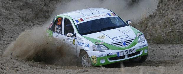 Echipajele Napoca Rally Academy au castigat lupta cu macadamul sibian